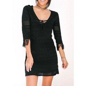 Bobbi Rocco | Black Summer Beach Cover Up Dress